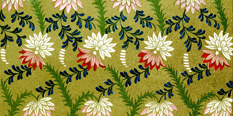 #MMInColour 2018 - green Victorian wallpapers of the time displayed vibrant colours but contained arsenic.