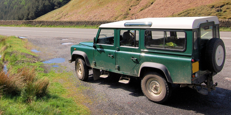 #MMInColour2018 - Land Rover green