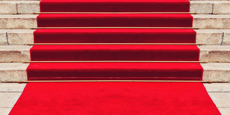 #MMInColour2018 - Red carpets, not invented by Hollywood at all.