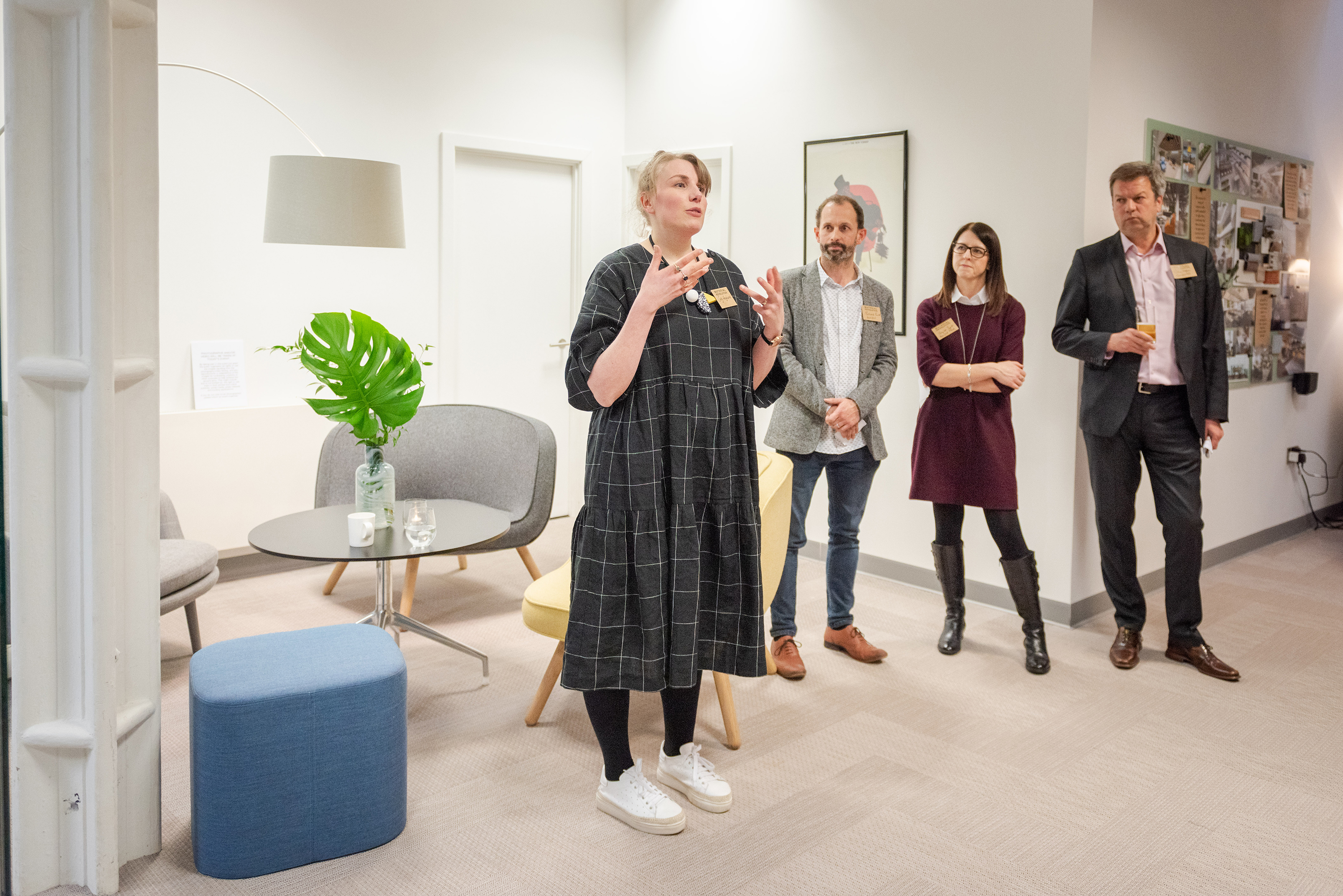 Intro talk from trend consultant Sally Angharad