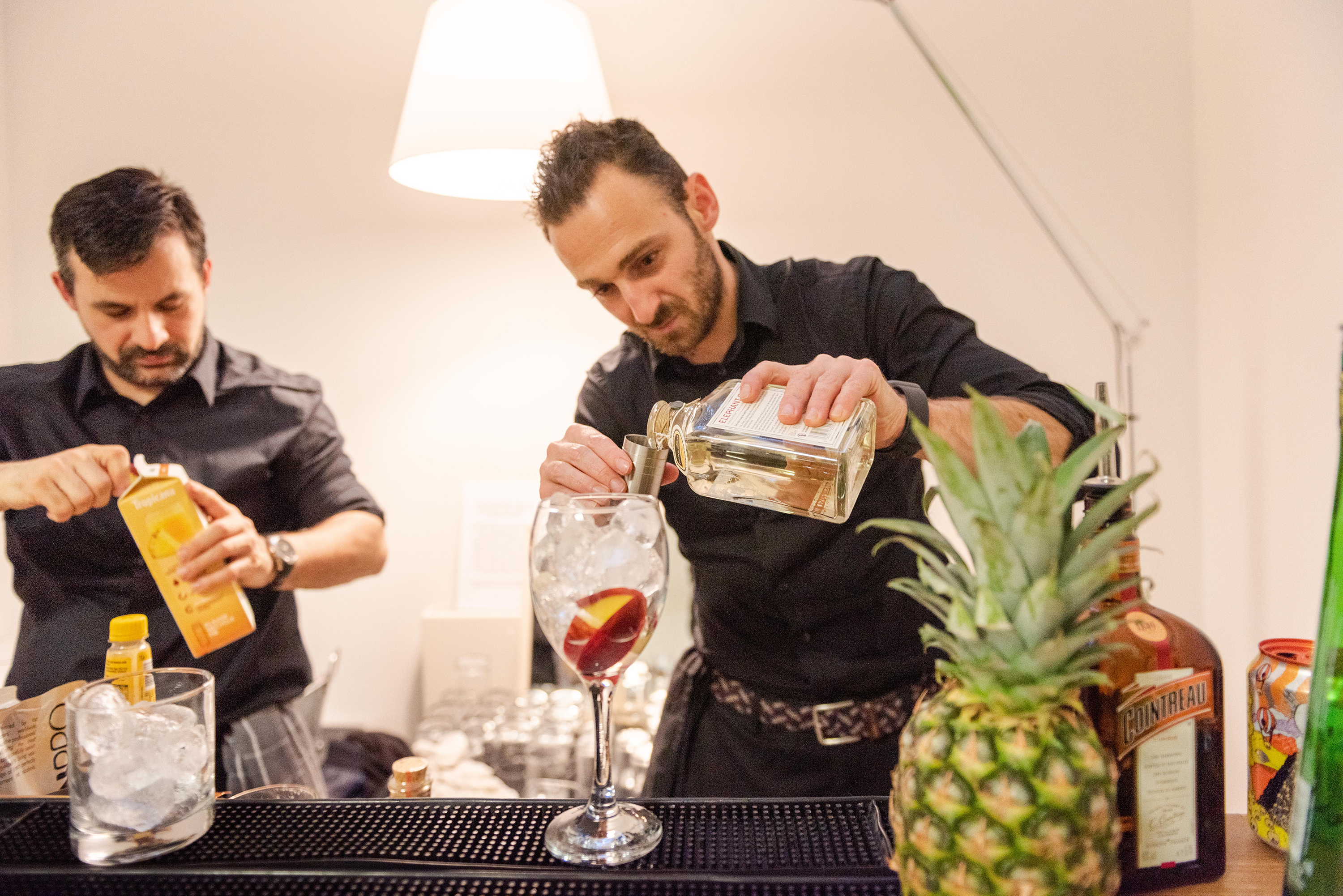 Vegan cocktails from Cocktail Arts
