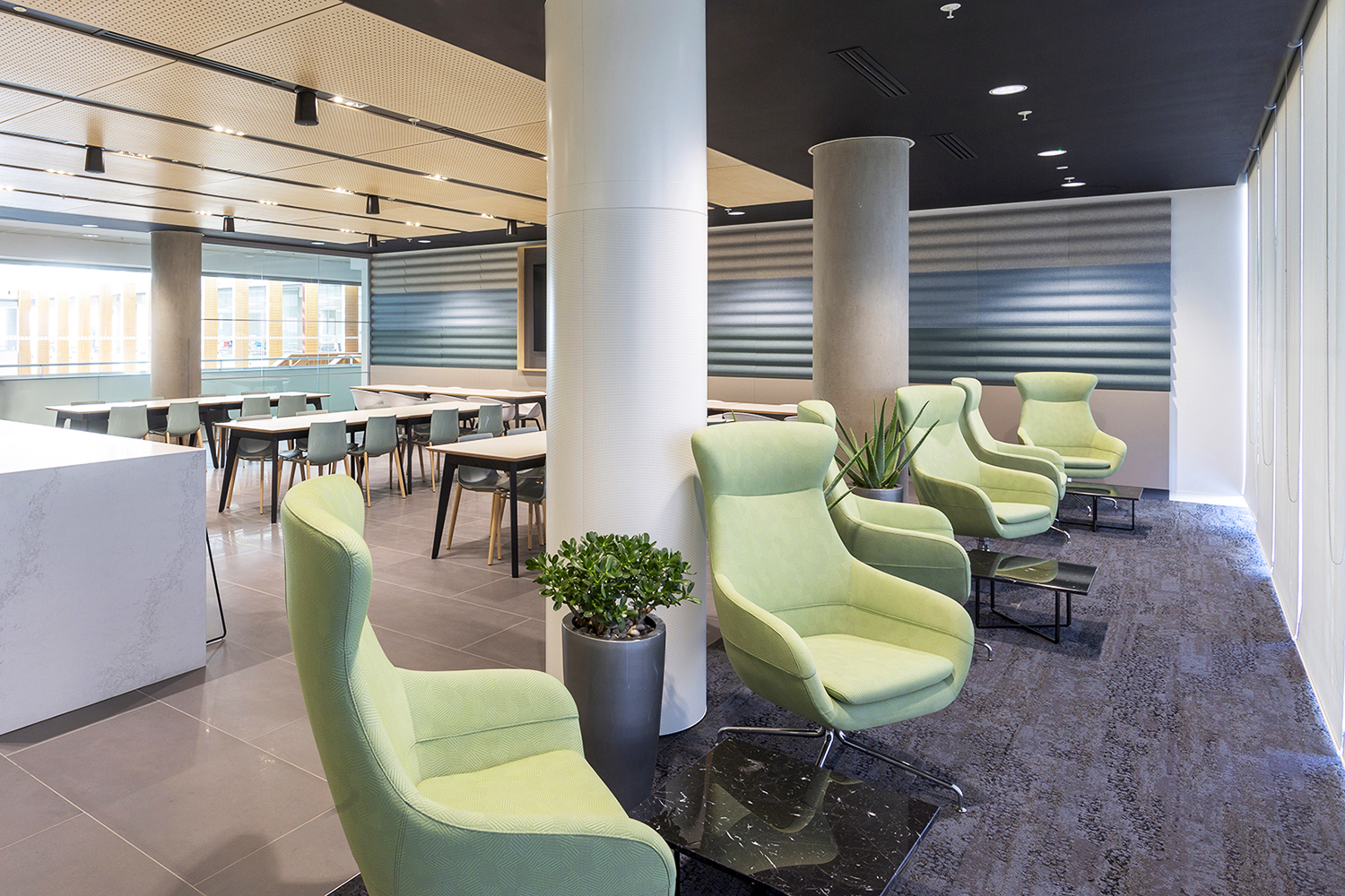 Autolus - White City Place, London - February 2019. Fit-out by Mansfield Monk.